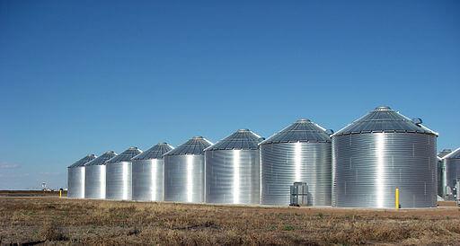 Ralls Texas Grain Silos 2010